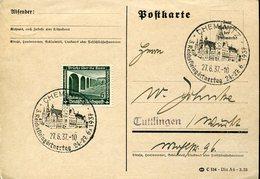 34605 Germany Reich.circuled Carc 1937 Chemnitz,reichkleingartentag, Garden Day - Briefe U. Dokumente