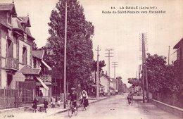 V12556 Cpa 44 La Baule -  La Route De Saint Nazaire Vers Escoublac - La Baule-Escoublac