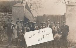 DOGNEN  - Conscrits En 1914      ( Carte-photo écrite De MIRBEL En Haute-Marne )   Très Rare - Autres Communes