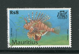 MAURICE- Y&T N°918- Oblitéré (poisson) - Maurice (1968-...)