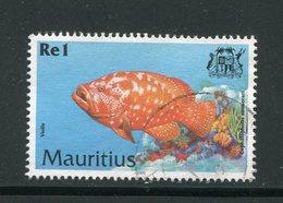 MAURICE- Y&T N°911- Oblitéré (poisson) - Maurice (1968-...)