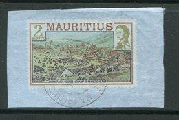 MAURICE- Timbre Provenant D'un Entier Postal- Oblitéré - Maurice (1968-...)