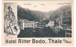 D-8449   THALE : Hotel Ritter Bodo - Thale