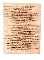 64 - PAU . NAVARRENX . LETTRE ADRESSÉE AU COLONEL DE ROBY LE 11 OCTOBRE 1824 - Réf. N°110F - - Manuscrits