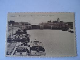 Wijnegem - Wijneghem - Wyneghem //Zicht Op Het SAS En Kanaal - Vue Sur Ecluse Et Le Canal (schip) / 19?? - Wijnegem
