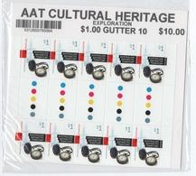 R17 AAT Antarctic Cultural Heritage Full Sheeet (blister Unopened) - Australian Antarctic Territory (AAT)