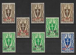 Cameroun 1945 - Série De Londres Complète  Y&T - N° 266 ** à  273 ** Neufs Luxe 1er Choix (gomme D'origine Intacte). - Cameroun (1915-1959)