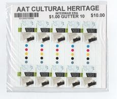 R17 AAT Antarctic Cultural Heritage Full Sheeet (blister Unopened) - Territoire Antarctique Australien (AAT)