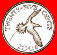 # BIRD: BERMUDA ★ 25 CENTS 2004! LOW START ★ NO RESERVE! - Bermudes