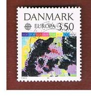DANIMARCA (DENMARK)  - 1991 EUROPA  - USED - Europa-CEPT