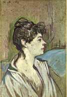 TOULOUSE  LAUTREC  Marcelle (1894) RV - Paintings