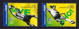 Australia 2006 Soccer Germany $1.25 & $1.85 Internationals Used - 2000-09 Elizabeth II