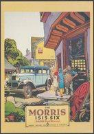 Advertising - The Morris Isis Six - J Arthur Dixon Postcard - Passenger Cars