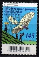 Bund 2016, Michel# 3254 O 125. Jahrestag Des 1. Fluges - Otto Lilienthal Mit Nr. Verwischt - Roulettes