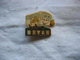 Pin's Des Autocars, Autobus SITAS - Transportation