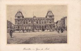Brussel, Bruxelles, Gare Du Nord  (pk46905) - Spoorwegen, Stations