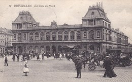 Brussel, Bruxelles, Gare Du Nord  (pk46906) - Spoorwegen, Stations