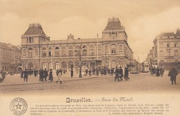 Brussel, Bruxelles, Gare Du Nord  (pk46907) - Spoorwegen, Stations