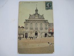 CPA 80 MONTDIDIER Hotel-de-Ville 1909 T.B.E Voir Angles - Montdidier