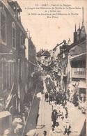 Gray (70) - Festival De Musique Et Congrès Des Fédérations De Mutilés De La Haute Saône 1921 - Défilé - Rue Thiers - Gray