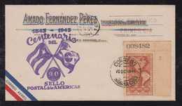 Kuba Cuba 1943 FDC Cover OLHO DE BOI Stamp Corner - Lettres & Documents
