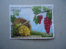 GREECE USED STAMPS 2014 FRUITS - Greece