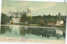 Pierrefonds 1911; Le Château. Les Bains Et L'Hôtel Des Bains - Voyagé. (LL.) - Pierrefonds