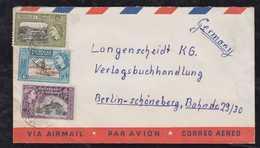 Trinidad 1958 Airmail Cover To BERLIN Germany - Trinité & Tobago (...-1961)