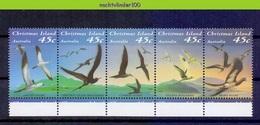 Mwe2605 FAUNA VOGELS BOOBY NODDY FRIGATEBIRD BIRDS VÖGEL AVES OISEAUX CHRISTMAS ISLAND 1993 PF/MNH - Marine Web-footed Birds
