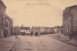CREIL - La Place Du Faubourg - Creil
