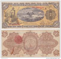 Mexico Revolutionary P S1101 - 1 Peso 5.2.1915 - Fine - Messico