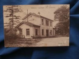 Saulx  La Gare  Bicyclette - écrite 1917 - R188 - Sonstige Gemeinden