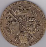 PORTUGAL MEDAL - COIMBRA - FESTAS DA RAINHA SANTA ISABEL - Royal / Of Nobility