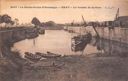 Gray (70) - Le Bassin De La Gare - Gray