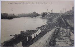 SAINT-RAMBERT-D'ALBON. - Bord Du Rhône Et Usine - Autres Communes