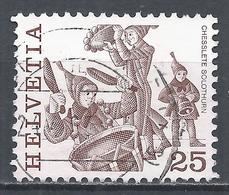Switzerland 1984. Scott #635 (U) Folk Custom, Chesslete Solothurn * - Suisse