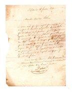 64 - NAVARRENX . LETTRE ADRESSÉE À MONSIEUR LE CHEVALIER DE ROBY . LE 16 FÉVRIER 1830 - Réf. N°114F - - Manuscripts