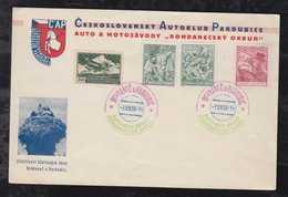 Czechia Czech Republic 1938 Auto Club PARDUBICE Nice Cover - Briefe U. Dokumente