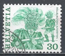 Switzerland 1982. Scott #636 (U) Folk Custom, Rollelibutzen, Altstatten * - Oblitérés