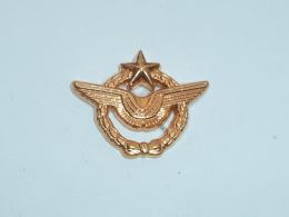 Pin's INSIGNE DIPLOME AERIEN MILITAIRE DORE - Army