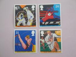 1991 Grande-Bretagne Yvert 1547/0 ** Sport  Scott 1378/1 Michel 1341/4 SG  1564/7 - 1952-.... (Elizabeth II)