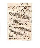 64 - PAU . NAVARRENX . LETTRE ADRESSÉE À MONSIEUR LE CHEVALIER DE ROBY LE 11 JUIN 1827 - Réf. N°9821 - - Manuscrits