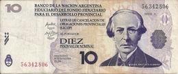 ARGENTINE 10 PESOS LECOP 2006 VF - Argentina