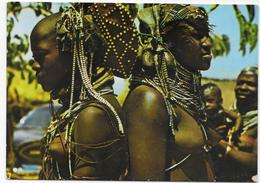 Angola - Costumes Mulher Mumuila. - Costumi