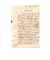 64 - PAU . NAVARRENX . LETTRE ADRESSÉE À MONSIEUR LE CHEVALIER DE ROBY LE 22 JANVIER 1827 - Réf. N°9824 - - Manuscrits
