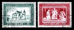 Vatican 1964 Mi.nr.:462-463 Todestag Von Nikolaus Von Kues  Oblitérés / Used / Gest. - Oblitérés