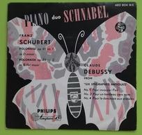 "PIANO Duo SCHNABEL - EP 7"" - Philips - Printed In Holland - 45 Giri - Classica"