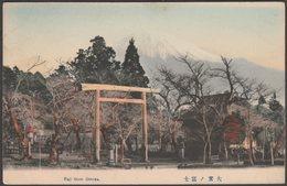 Mount Fuji From Omiya, Saitama, C.1905 - Postcard - Japan