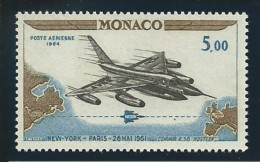 MONACO: **, PA N° YT  82, TB - Posta Aerea