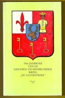 DE GAVERSTREKE 19de JAARBOEK ©1991 431blz WAREGEM Desselgem Beveren-Leie St-Eloois-Vijve Wortegem Anzegem Tiegem Z346 - Waregem